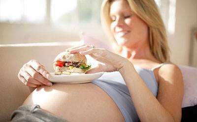 Вредное питание при беременности
