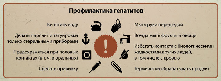 Профилактика Гепатитов