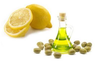 Масло и лимон для чистки органа