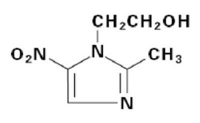 Метронидазол формула