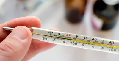 Незначительное повышение температуры