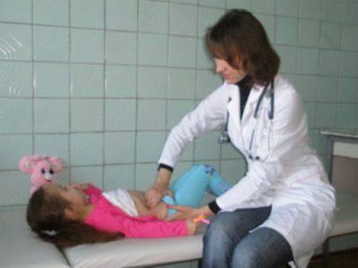 Пальпация почки у ребенка