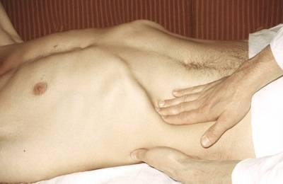 Пальпация органа