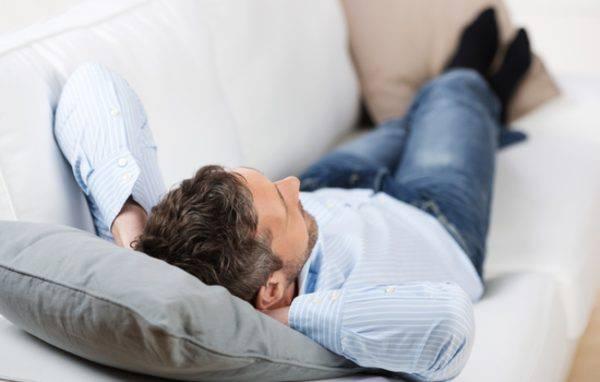 Длительное лежание