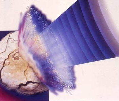 Дробление камня ультразвуком