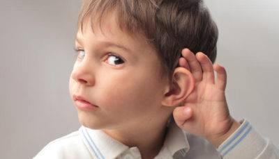 Нарушение слуха у мальчиков
