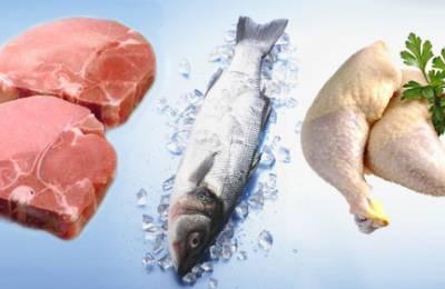 Нежирная рыба и мясо