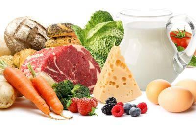 Нормальное питание при заболевании