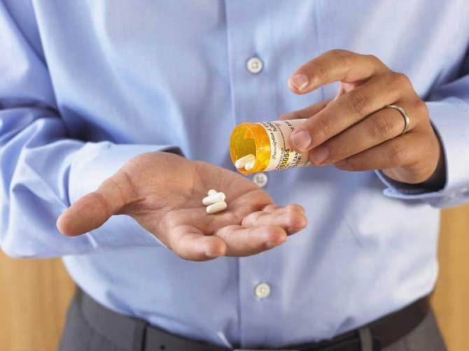 Длительный прием лекарств