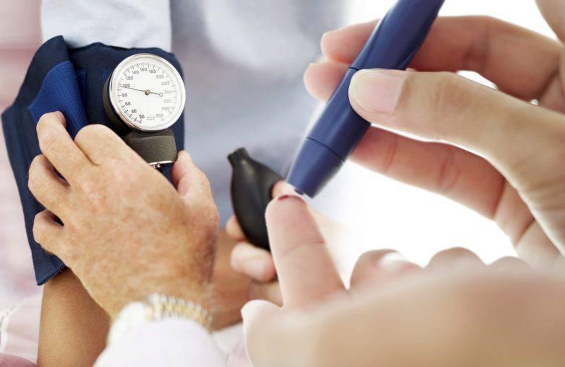 Сахарный диабет и повышение кровяного давления